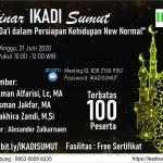 Webinar IKADI Sumut dengan tema Peran Da'i dalam Persiapan Kehidupan New Normal