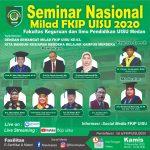 Rekaman : Seminar Nasional Milad FKIP UISU 2020 | Fakultas Keguruan dan Ilmu Pendidikan UISU Medan