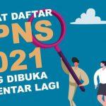 Bulan Mei Lowongan CPNS 2021 untuk 1,27 Juta Akan Dibuka